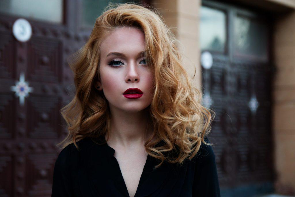 Curly Blonde Edmonton Hair Style
