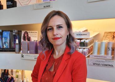 Tetianna-Protege hair stylist at Ellerslie Road